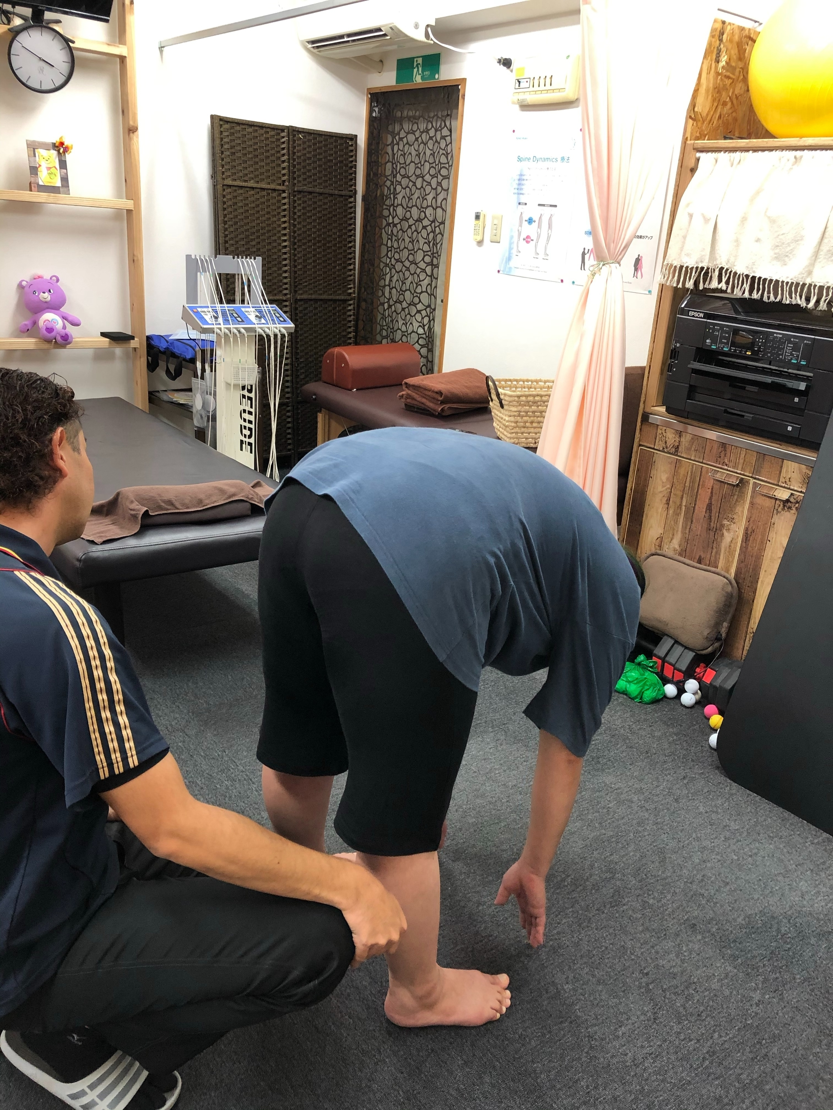 沖縄腰痛 筋膜施術